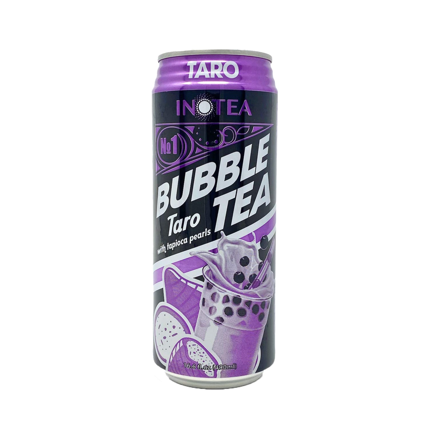 Inotea Taro Bubble Tea Drink 16.6oz