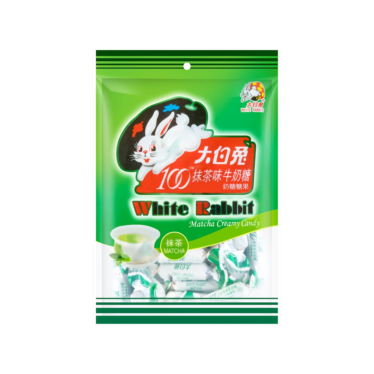 White Rabbit Matcha Creamy Candy 大白兔抹茶奶糖