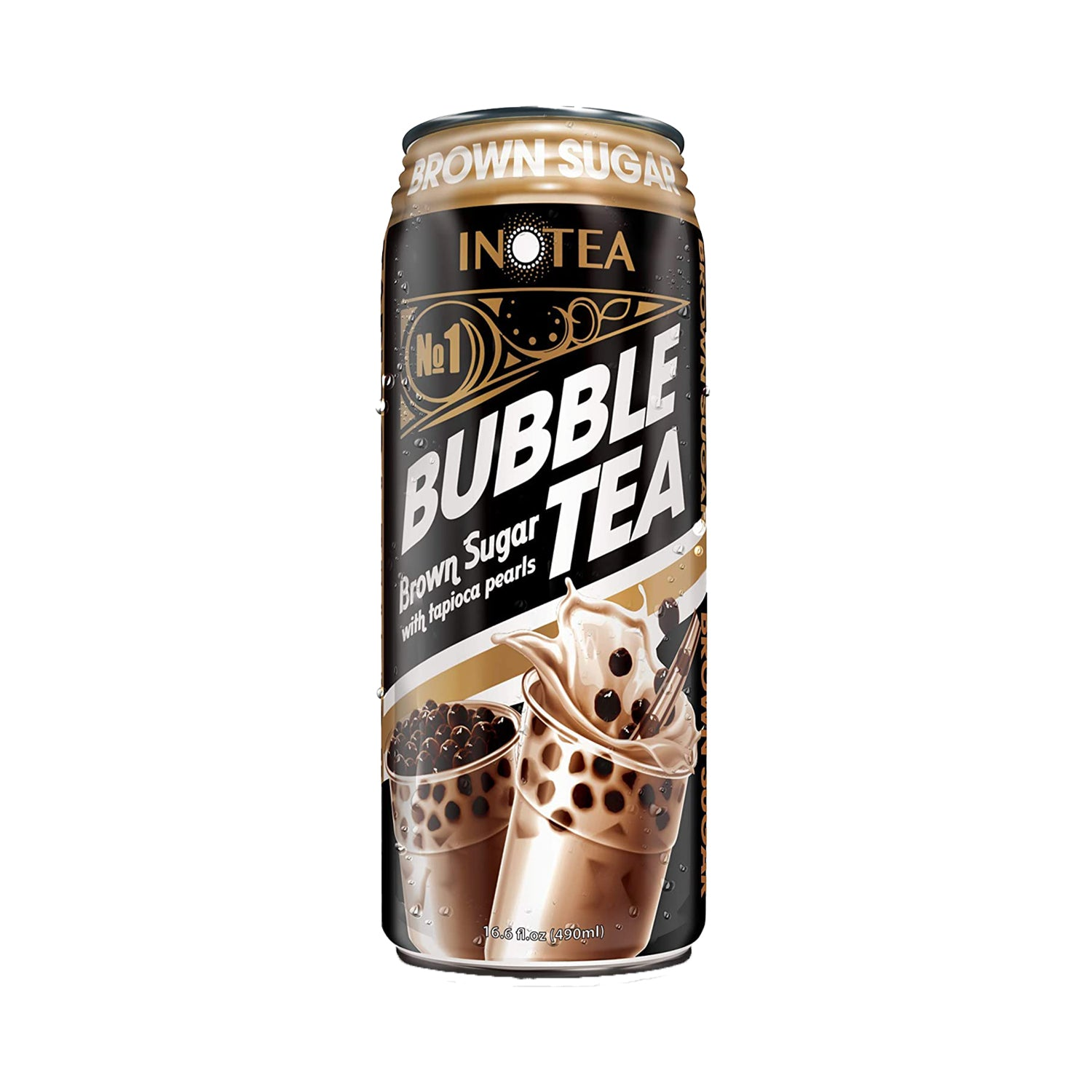Inotea Brown Sugar Bubble Tea Drink 16.6oz