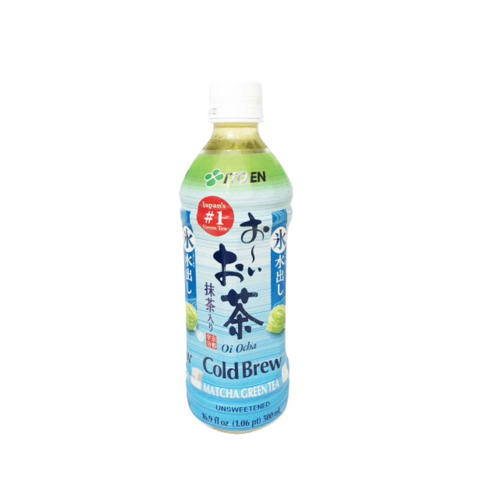 ITO EN Cold Crew Matcha Green Tea (Unsweetened)