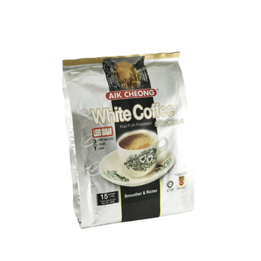 Malaysia AIK Cheong White Coffee 3in1 (Less Sugar)