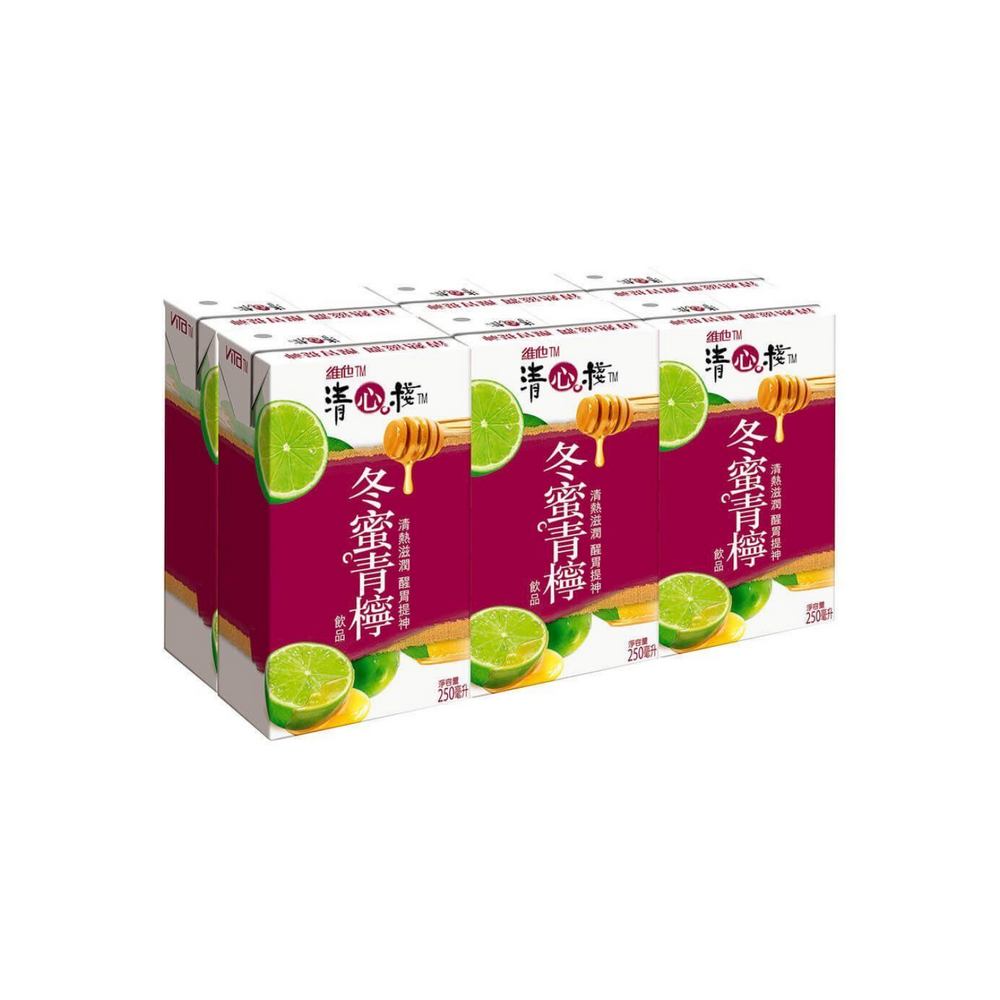 Vita Winter Honey Lime Juice Drink (Pack of 6)