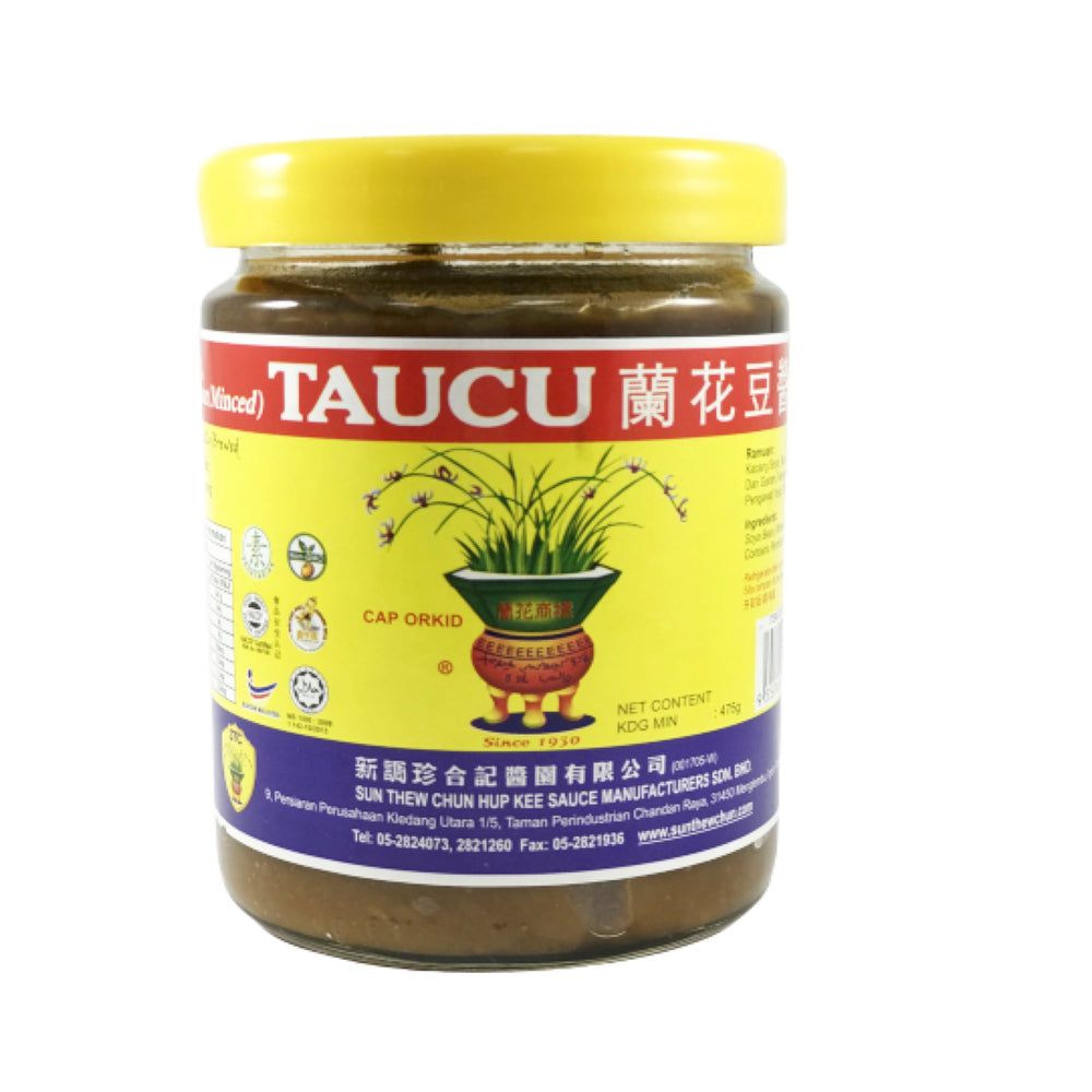 Taucu Orchid Bean Paste 兰花豆酱 (碎)