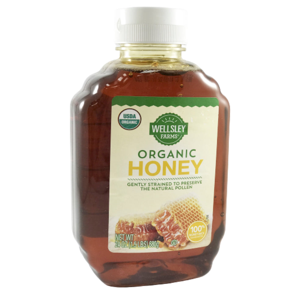 Wellsley Farms Oraganic Honey 24oz