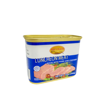 RA's Farm Luncheon Meat with Pork & Chicken 中华 午餐肉 12oz