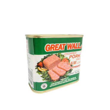 Great Wall Chopped Pork & Ham Loaf 长城牌 火腿猪肉 12oz