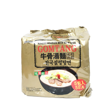 Paldo Gomtang Oriental Style Noodles With Beef Soup Base