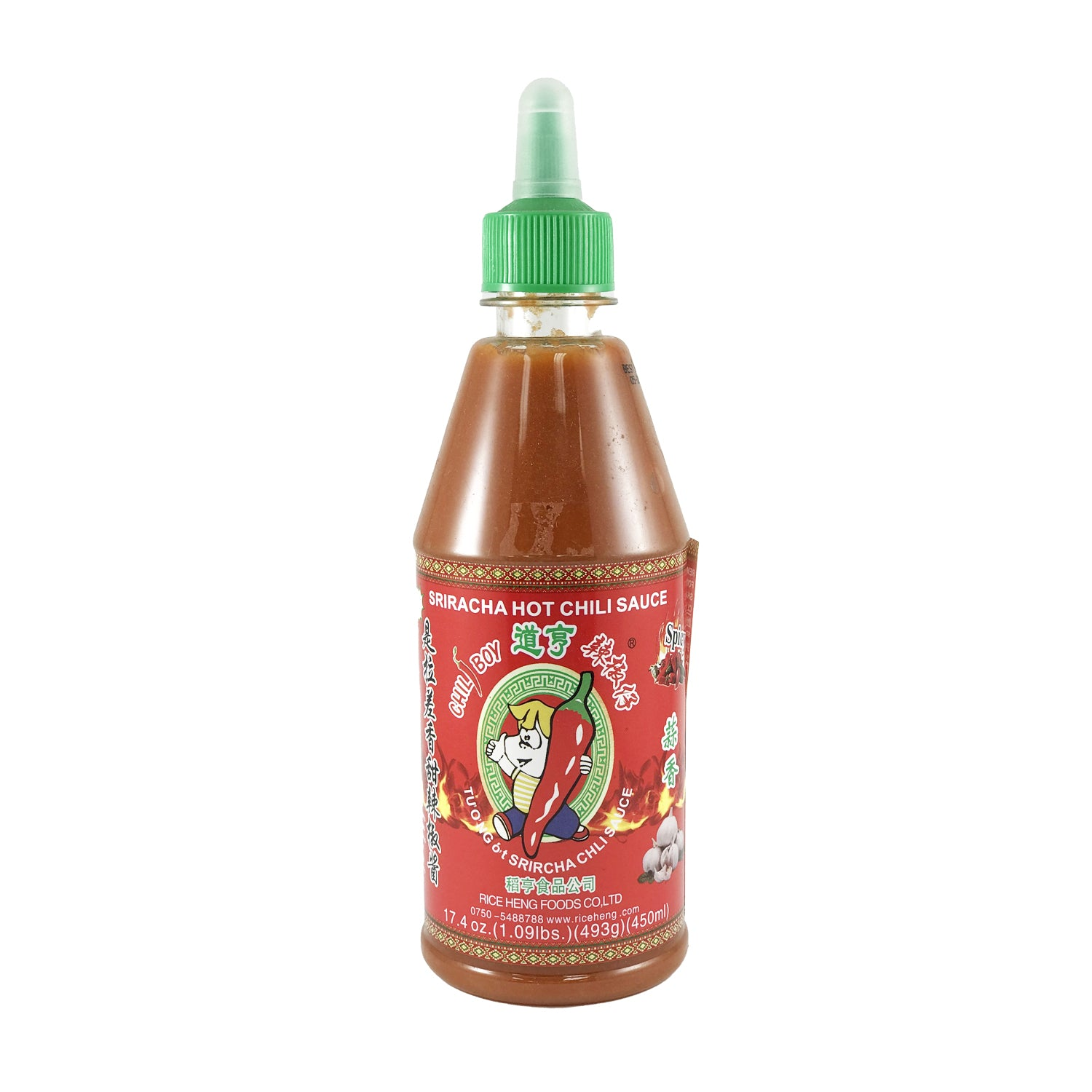 Sriracha Hot Chili Sauce 17.4oz