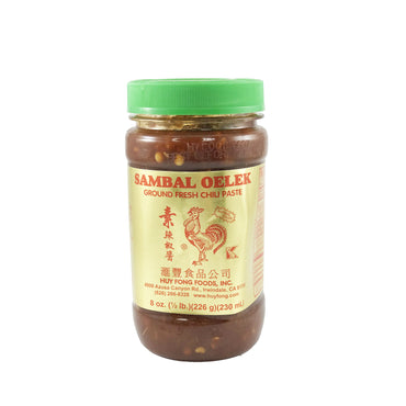 Huy Fong Sambal Oelek Ground Fresh Chili Paste 汇丰 素辣椒酱 8oz