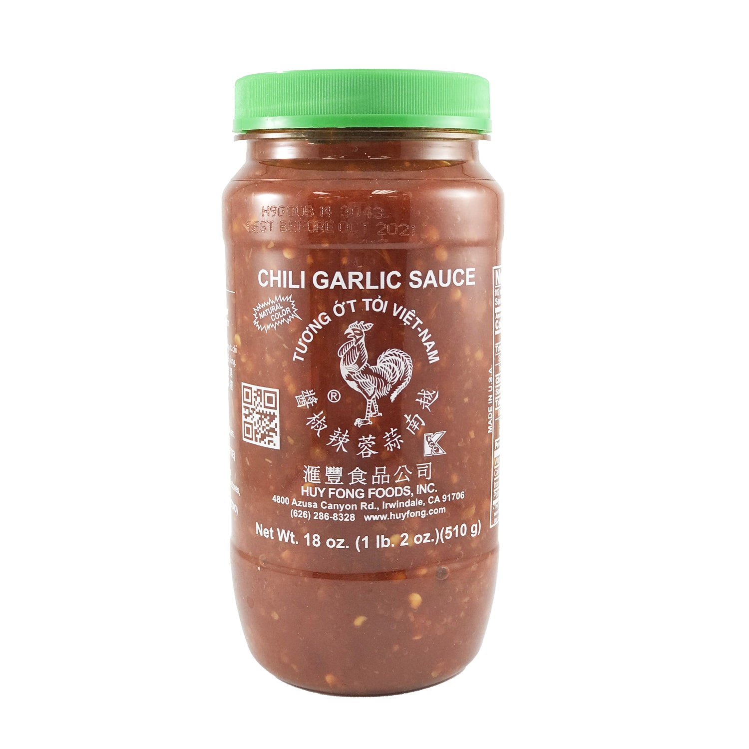 Chili Garlic Sauce 越南蒜蓉辣椒酱 18oz