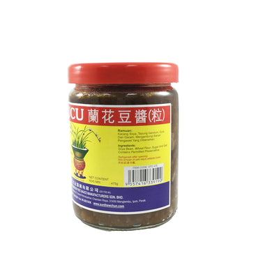 Taucu Orchid Bean Paste 兰花豆酱 (粒)