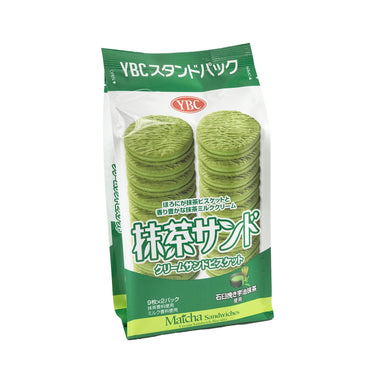 YBC Matcha Sandwiches Cream Crackers