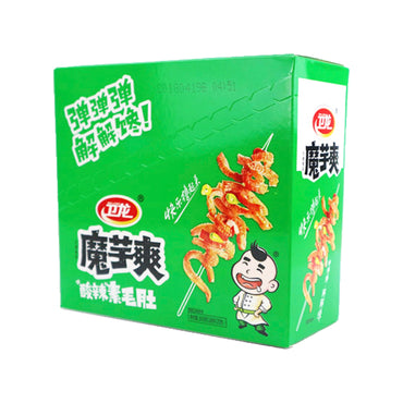 WEILONG Hot Konjac Hot & Sour Flavor 卫龙 魔芋爽 酸辣素毛肚