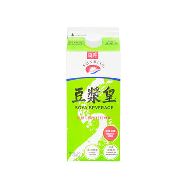 Sunrise Soya Beverage Unsweetened 日昇豆漿王 無糖豆漿
