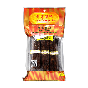 Orchard Gold Grade Uncooked Chinese Style Sausages Made with Duck Liver