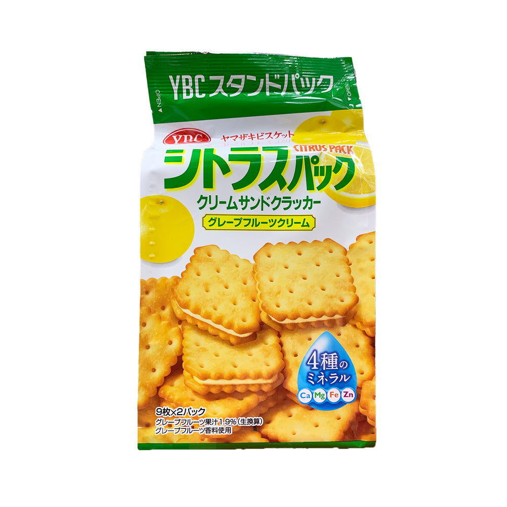 YBC Citrus Pack Cream Sandwich Crackers