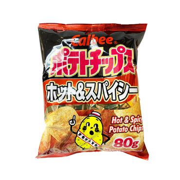 Calbee Potato Chips Hot& Spicy 卡比薯片 辣味