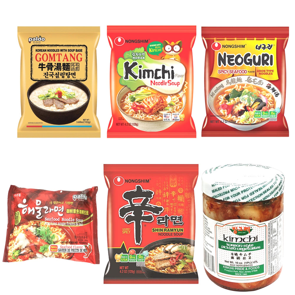 Korean Instant Noodle Package