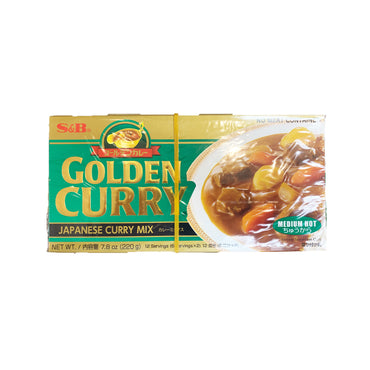 S&B Golden Japanese Curry Mix Medium Hot