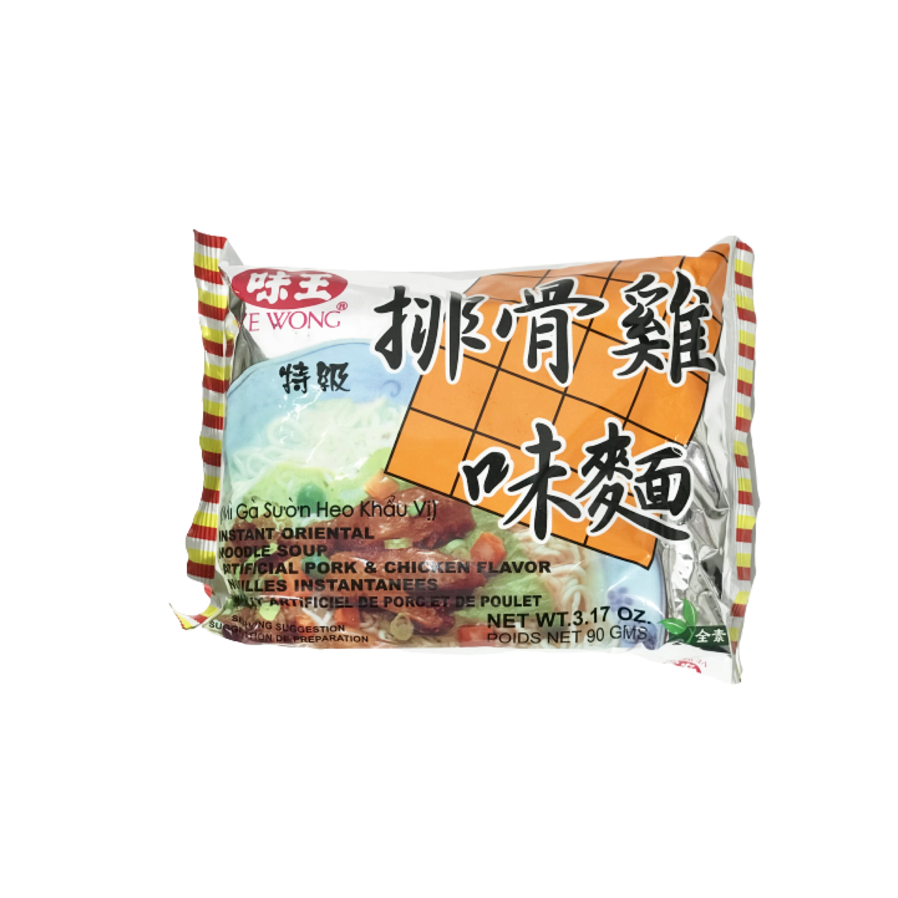 WeiWong Pork & Chicken Flavor 味王排骨雞味麺