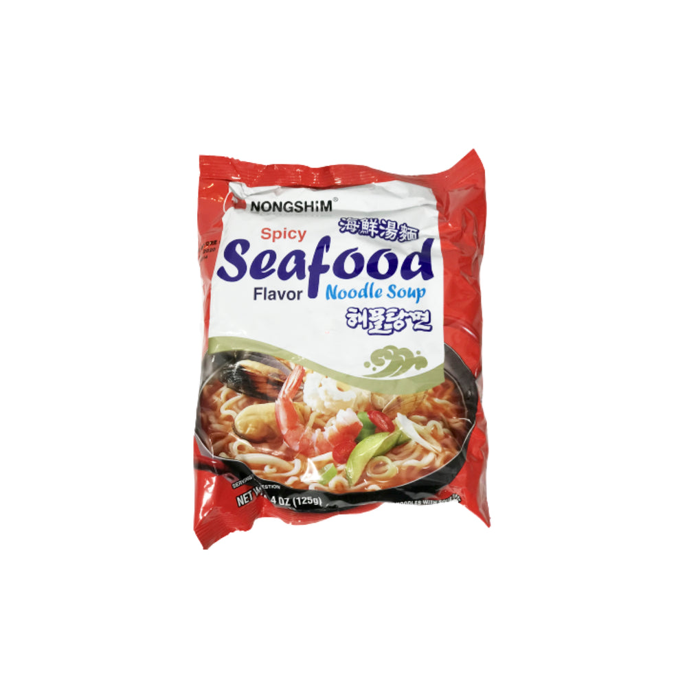 Nongshim Spicy Seafood Instant Noodle