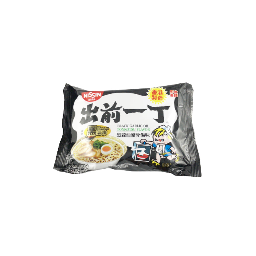 Nissin Demae Itcho Black Garlic Oil Flavor Instant Noodle