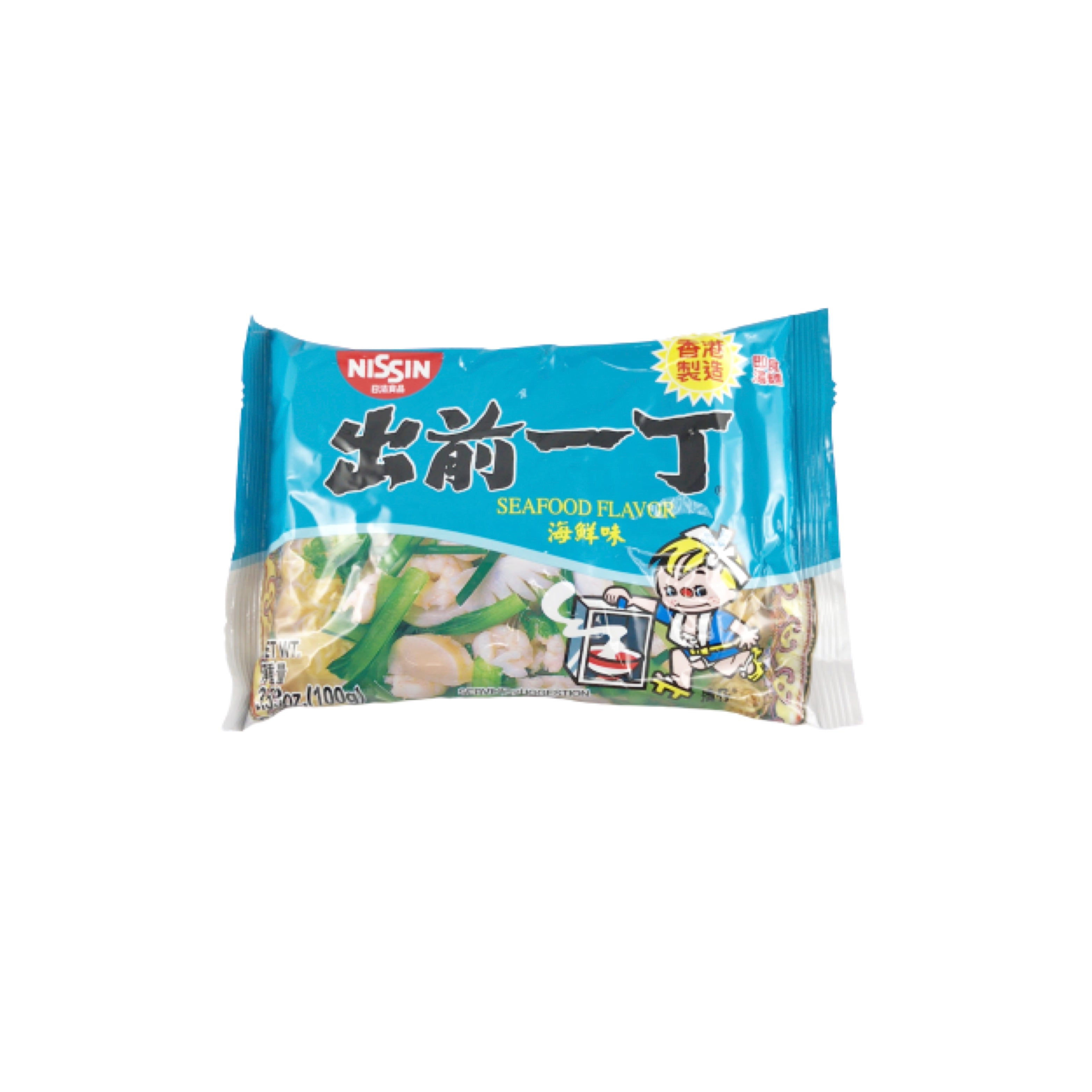 Nissin Demae Itcho Seafood Flavor Instant Noodle 出前一丁海鮮麺