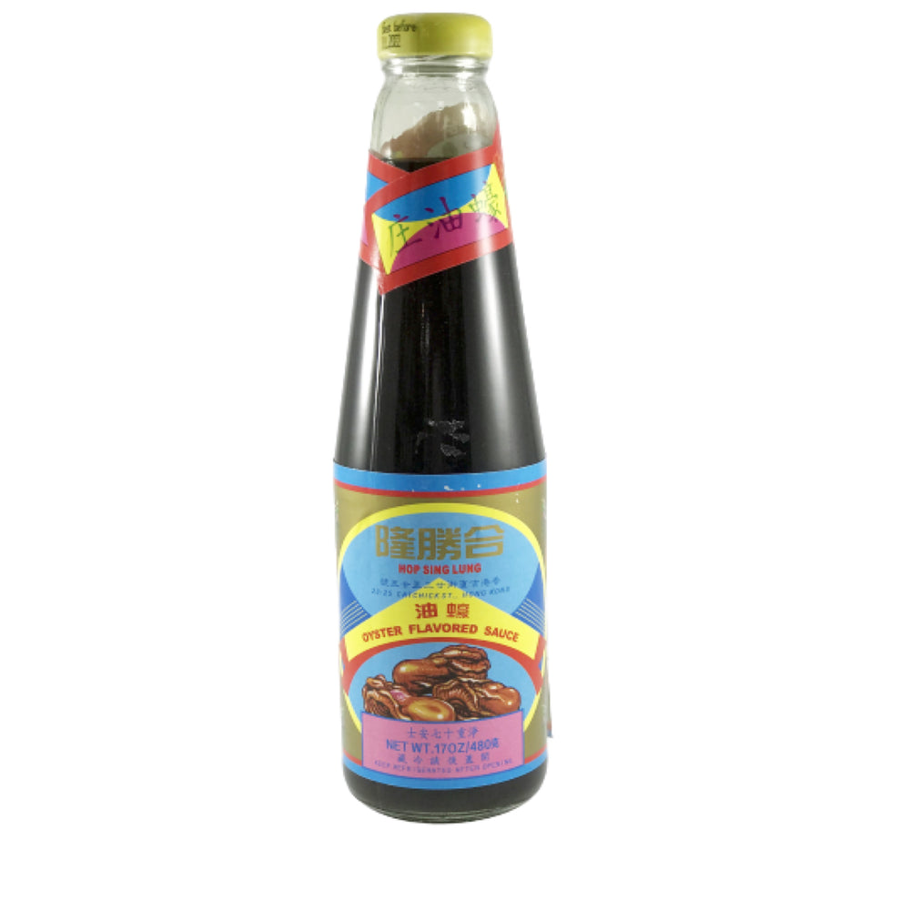 Oyster Flavored Sauce 合胜隆蠔油 17oz