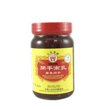 Havista Bean Curd (Fermented) in Seasoning Sauce 五谷豐 開平南乳 11.22oz