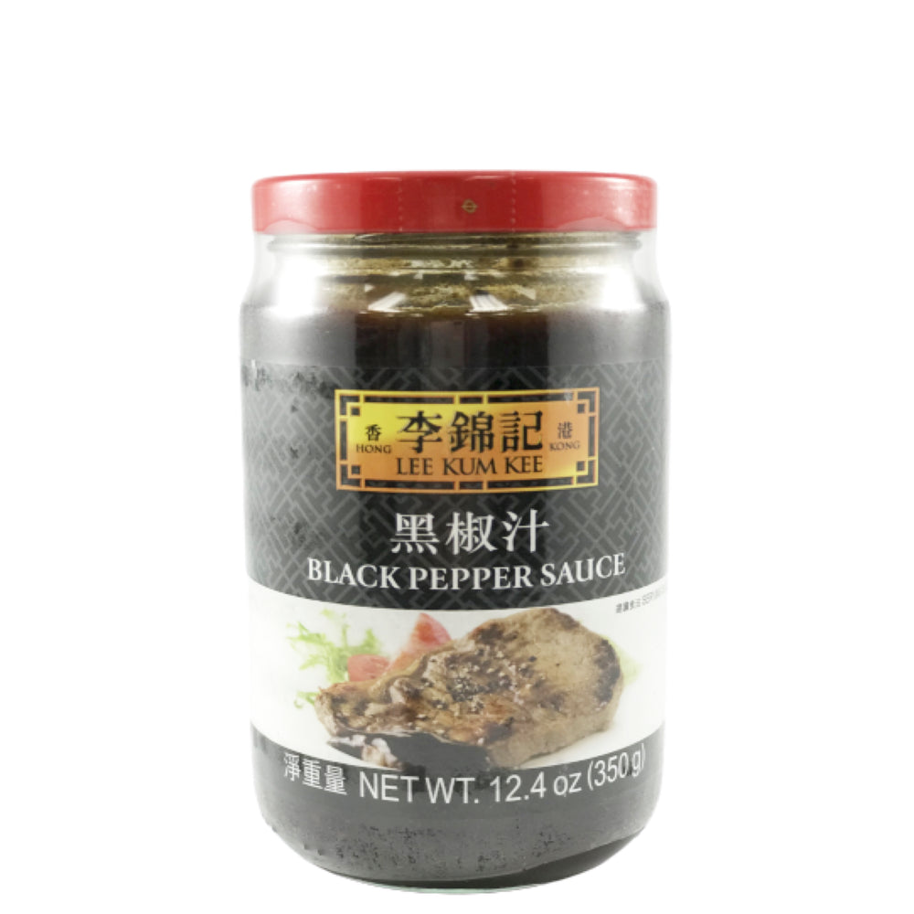 Lee Kum Kee Black Pepper Sauce 李錦記 黑椒汁 12.4oz