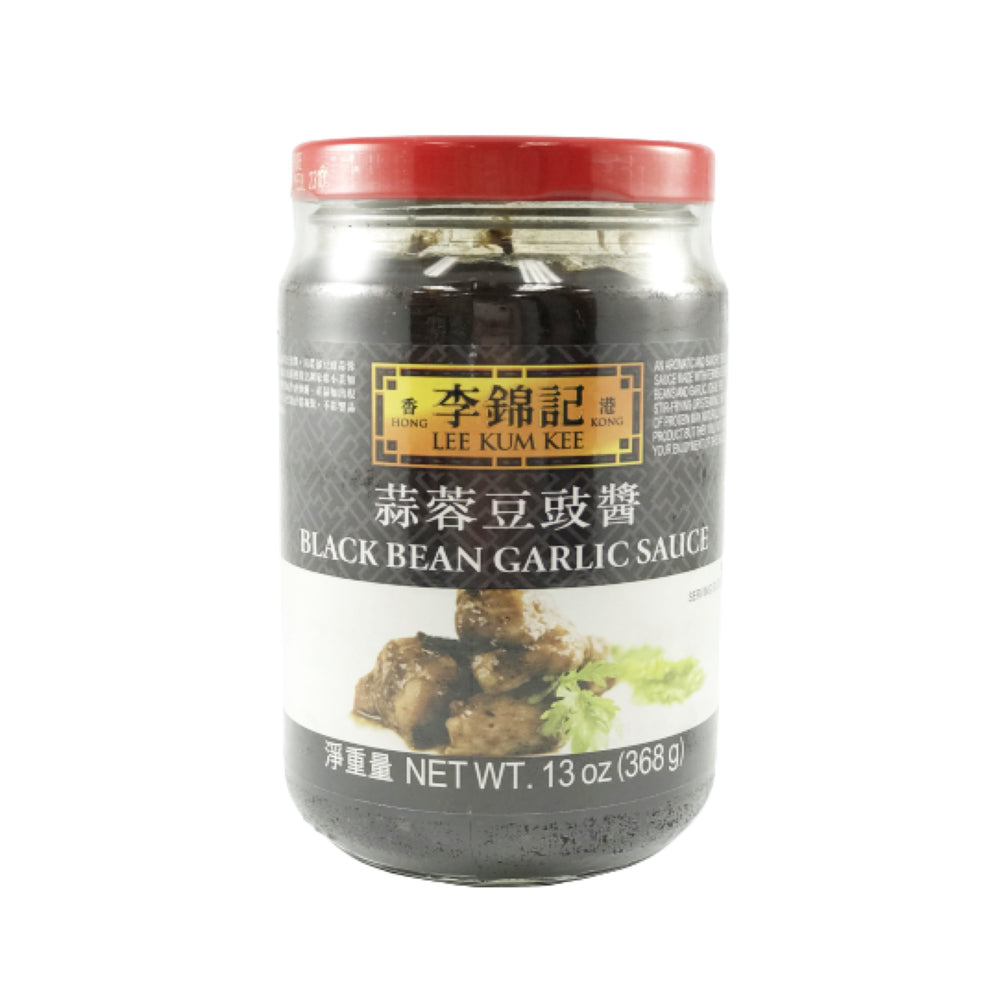 Lee Kum Kee Black Bean Garlic Sauce 李錦記 蒜蓉豆䜴醬 13oz