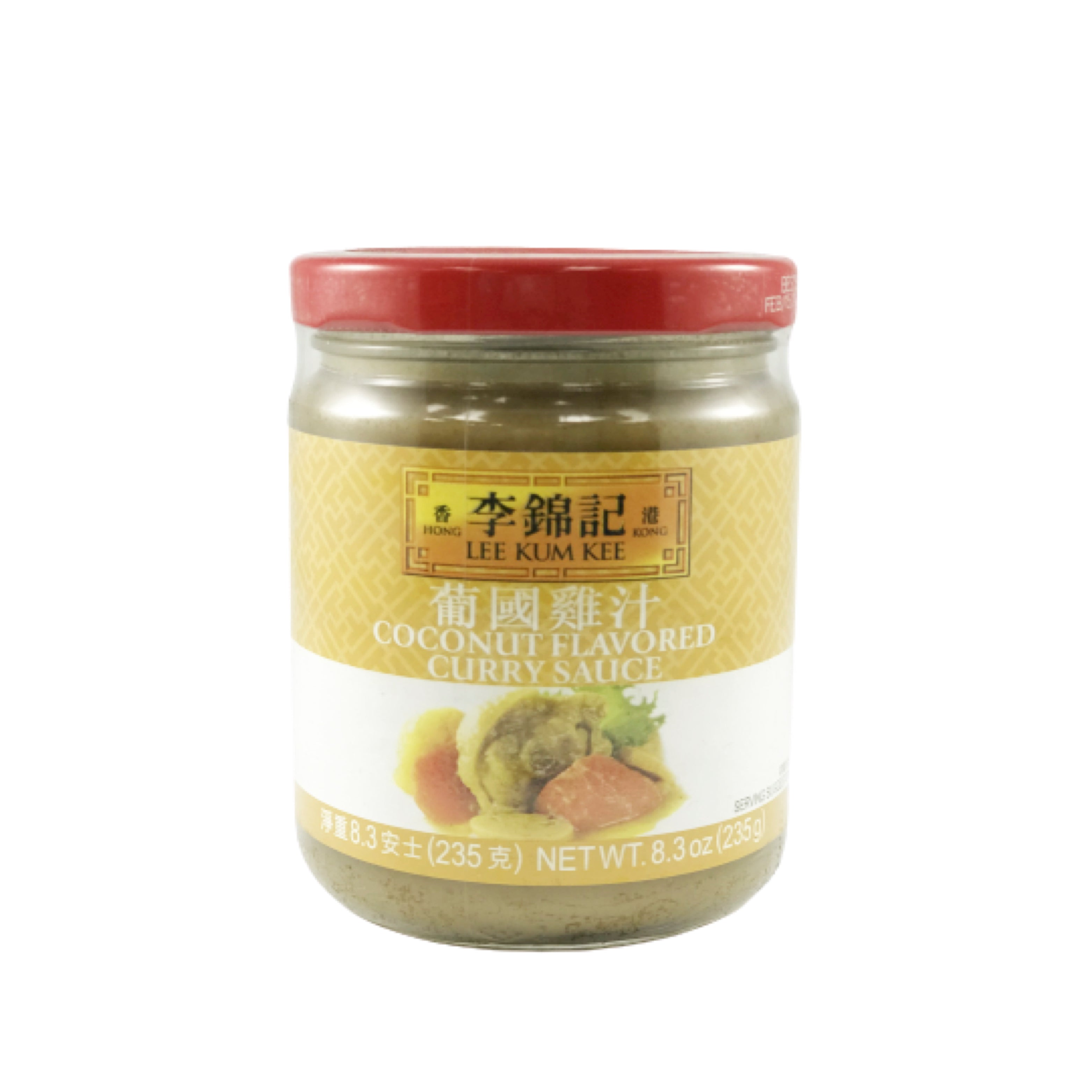 Lee Kum Kee Coconut Flavored Curry Sauce 李錦記 葡國雞汁 8.3oz
