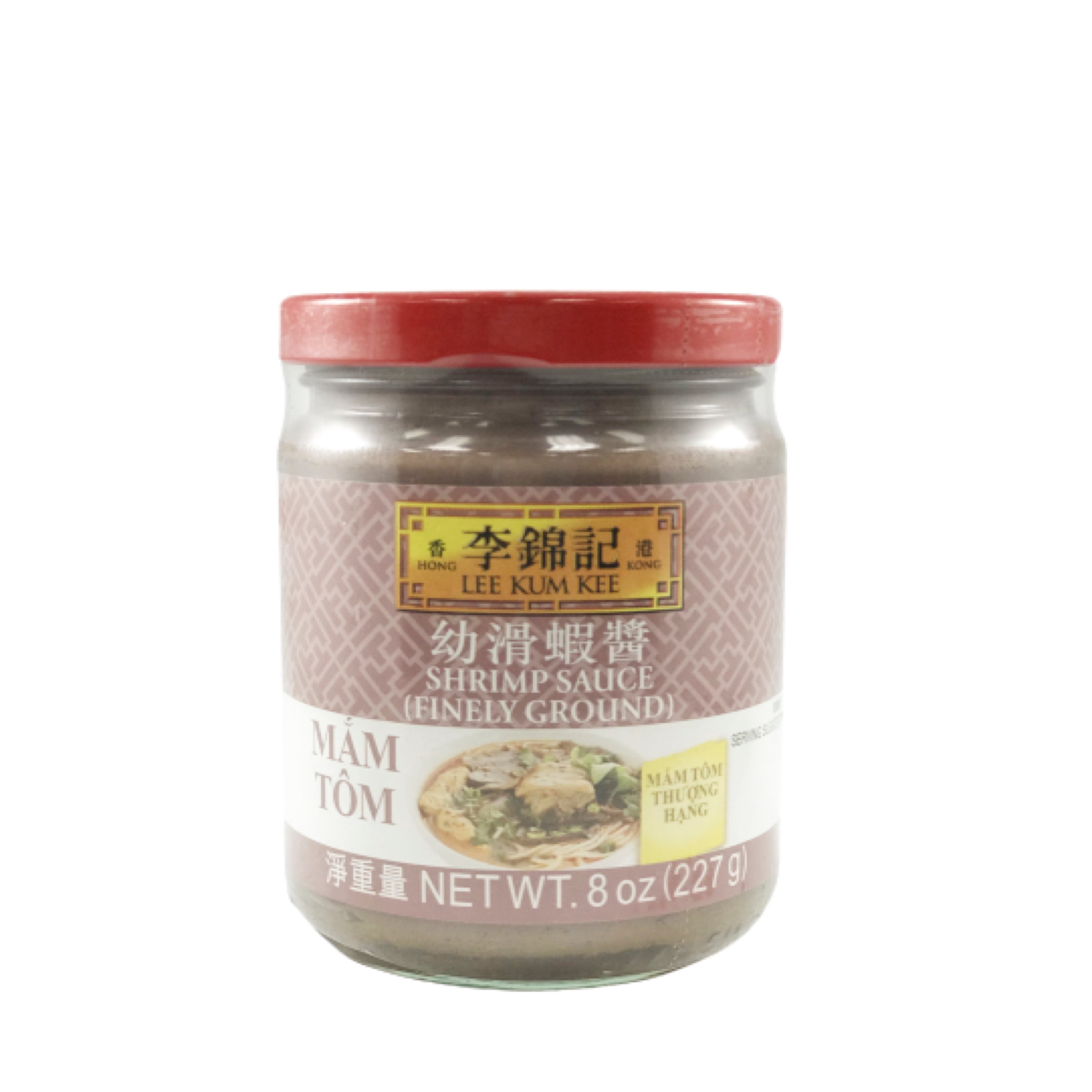 Lee Kum Kee Shrimp Sauce (Finely Ground) 李錦記 幼滑蝦醬 12oz