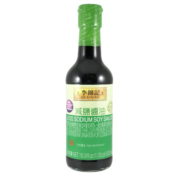 Lee Kum Kee Less Sodium Soy Sauce 李錦記 減鹽醬油 16.9oz