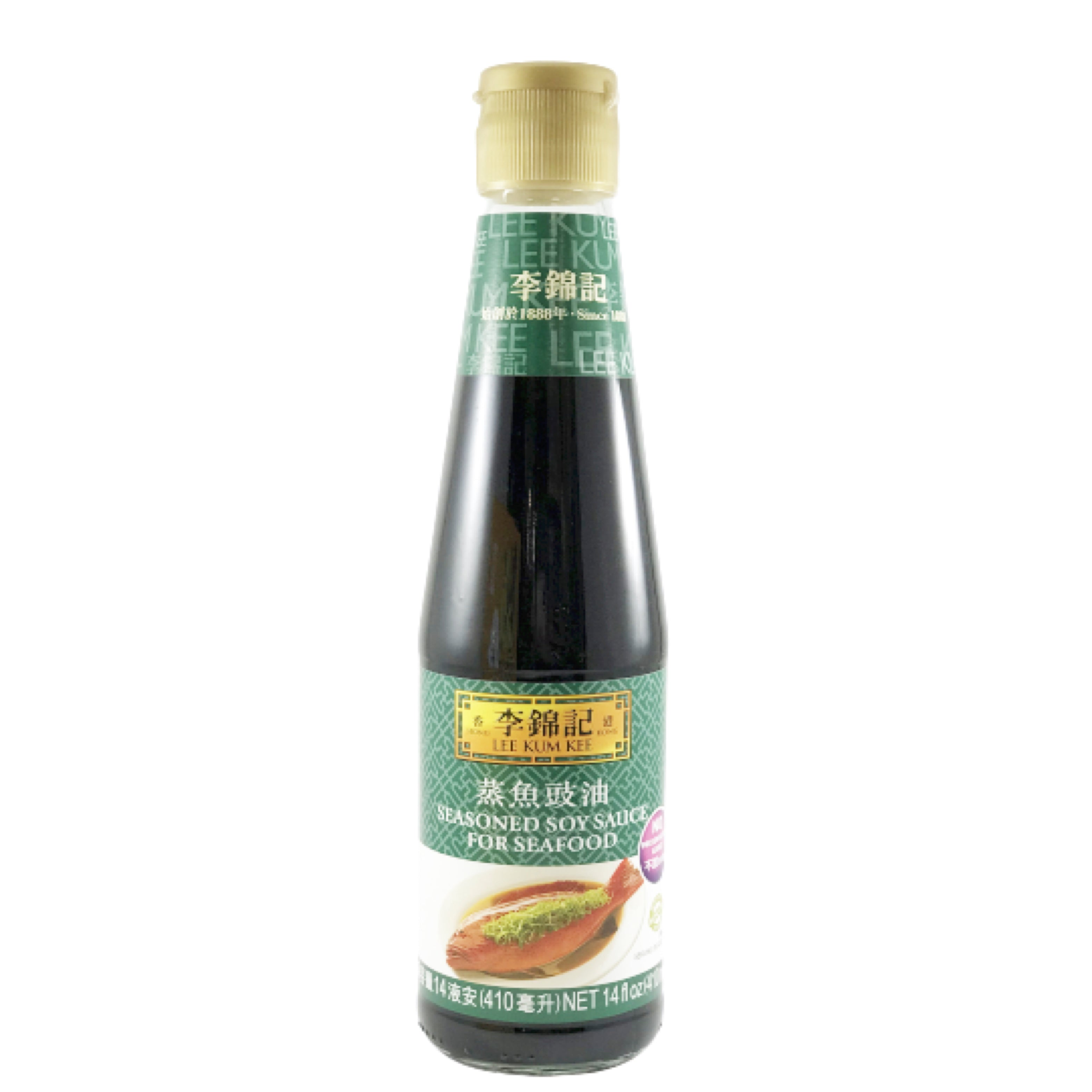 Lee Kum Kee Seasoned Soy Sauce For Seafood 李錦記 蒸魚䜴油 14oz