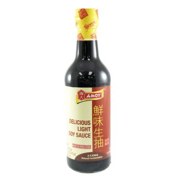 AMOY Delicious Light Soy Sauce 淘大 鮮味生抽 16.9oz