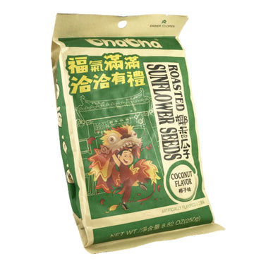 ChaCha Roasted Sunflower Seeds Coconut Flavor 恰恰有礼 香瓜子(椰子味)