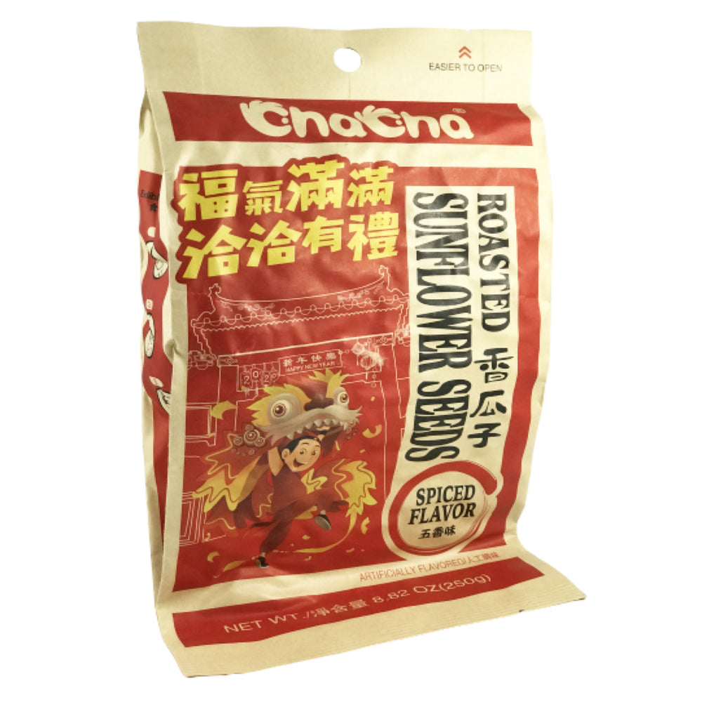 ChaCha Roasted Sunflower Seeds (Spices Flavor) 恰恰有礼 香瓜子(五香味)