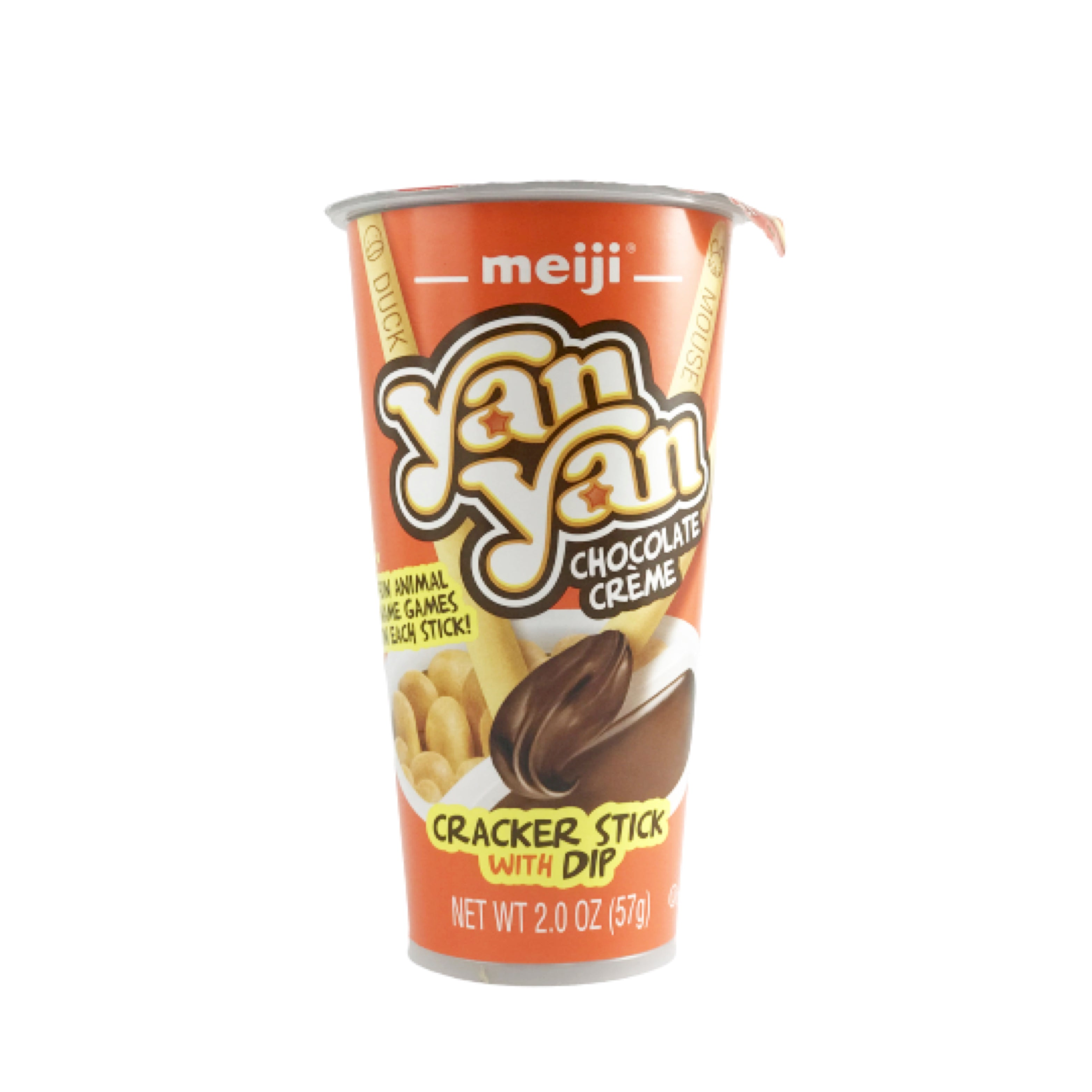 Meiji YanYan Chocolate Cream Cracker Stick