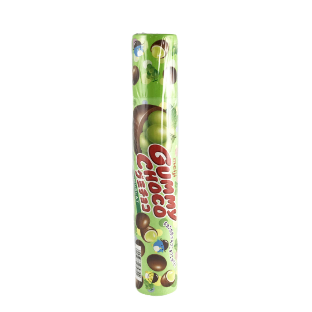 Meiji Gummy Choco Green Grape