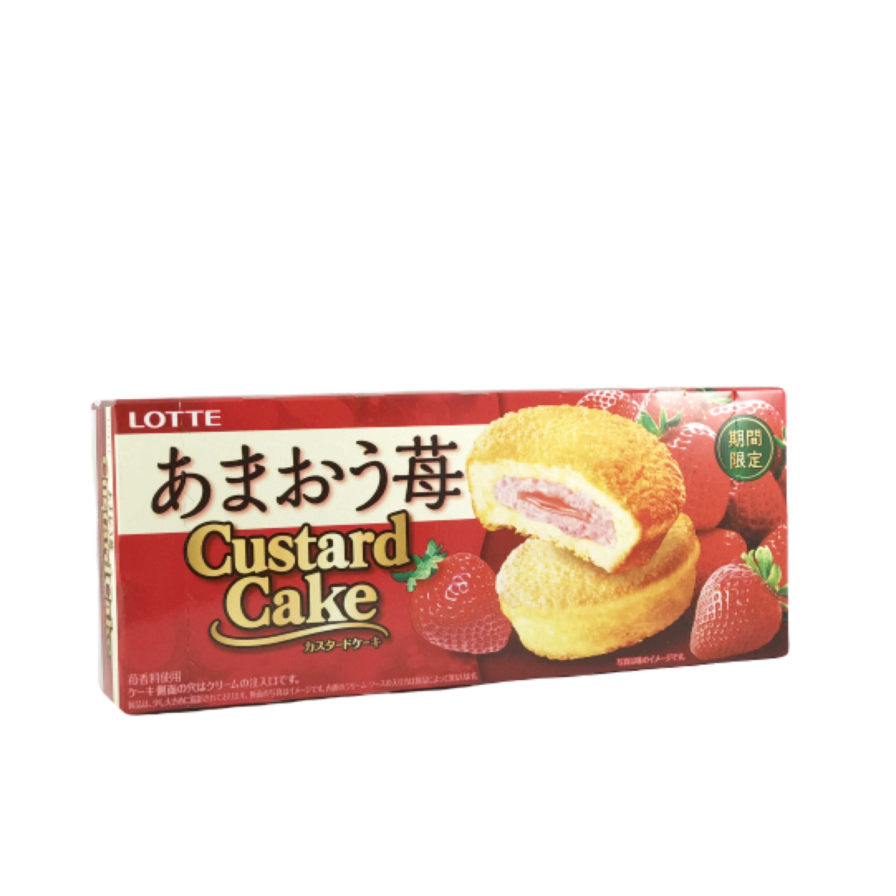 Lotte Strawberry Custar Cake
