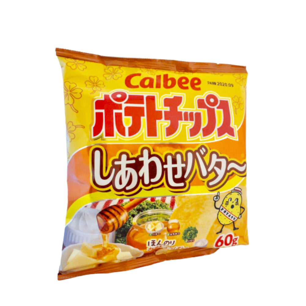 Calbee Potato Chips Honey Butter 可必洋芋片 蜂蜜奶油味