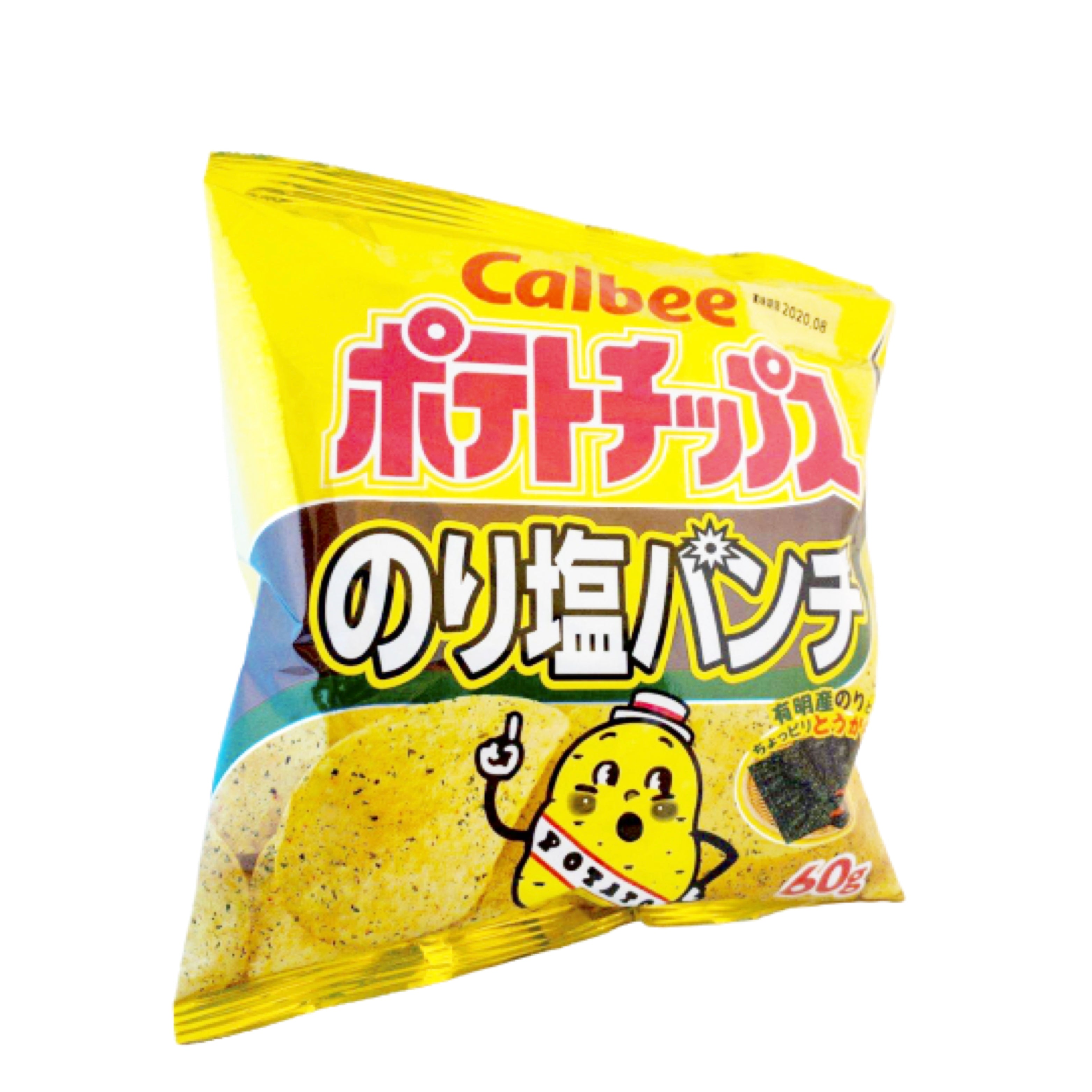 Calbee Potato Chips (Spicy Seaweed Flavor) 可必洋芋片 (辣海苔)