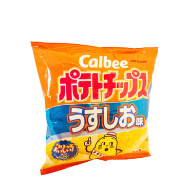 Calbee Potato Chips Light Salt Flavor 卡比薯片 轻盐