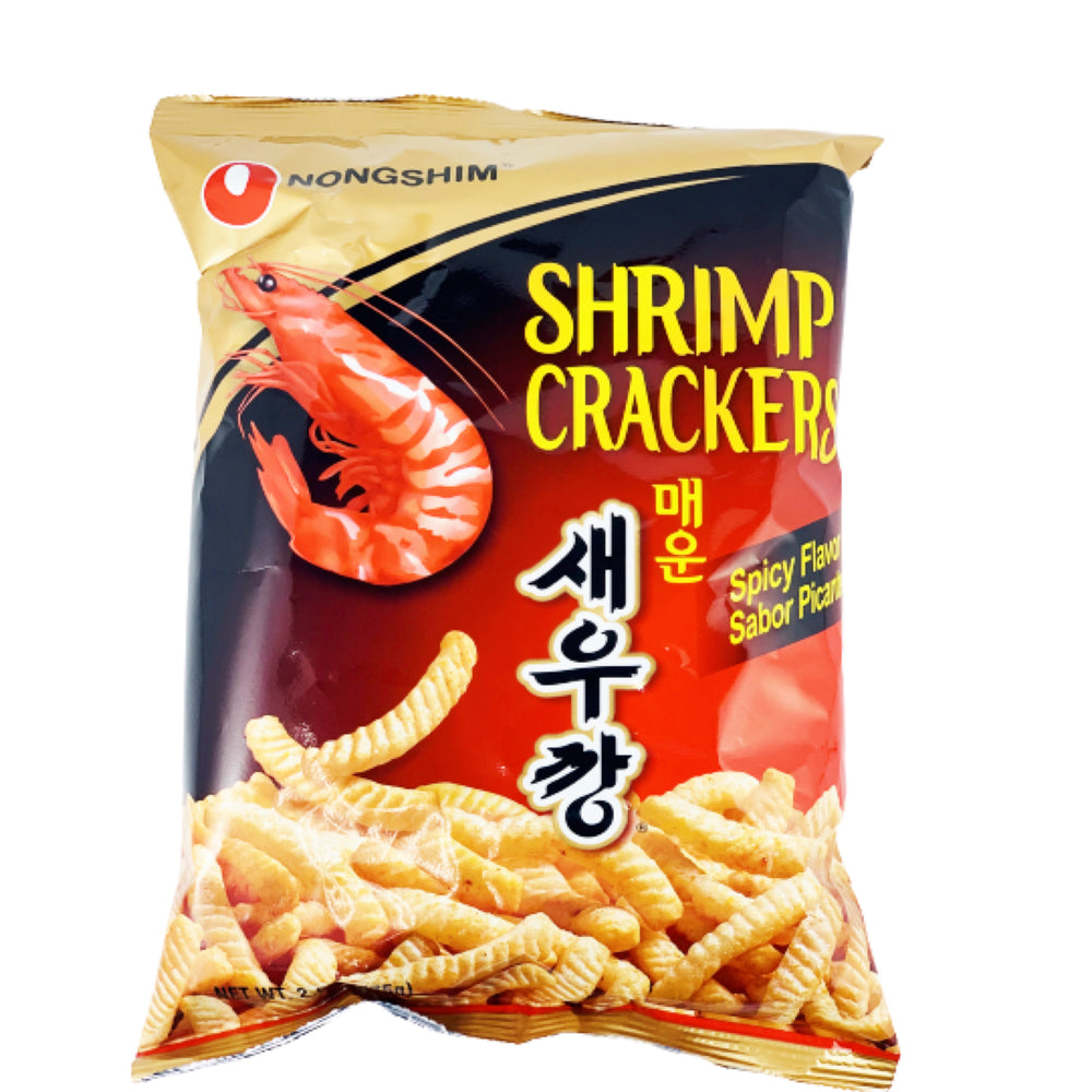 Nongshim Shrimp Crackers Spicy Flavor