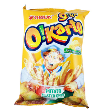 Orion Oikarato Potato Master Chef Cream& Cheese Flavor