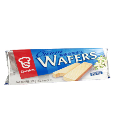 Garden Vanilla Cream Flavor Wafers 嘉頓忌廉威化 香草味