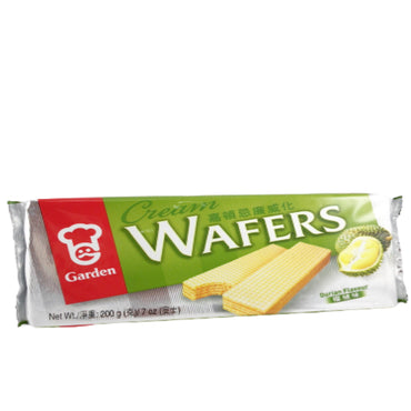 Garden Durian Cream Flavor Wafers 嘉頓忌廉威化 榴槤味