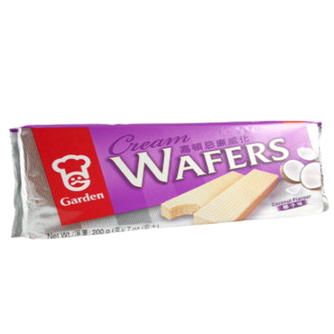 Garden Coconut Cream Flavor Wafers 嘉頓忌廉威化 椰子味