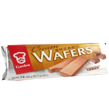 Garden Chocolate Cream Flavor Wafers 嘉頓忌廉威化 巧克力味